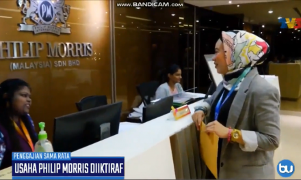 Philip Morris Malaysia is for Equal pay for Equal Work