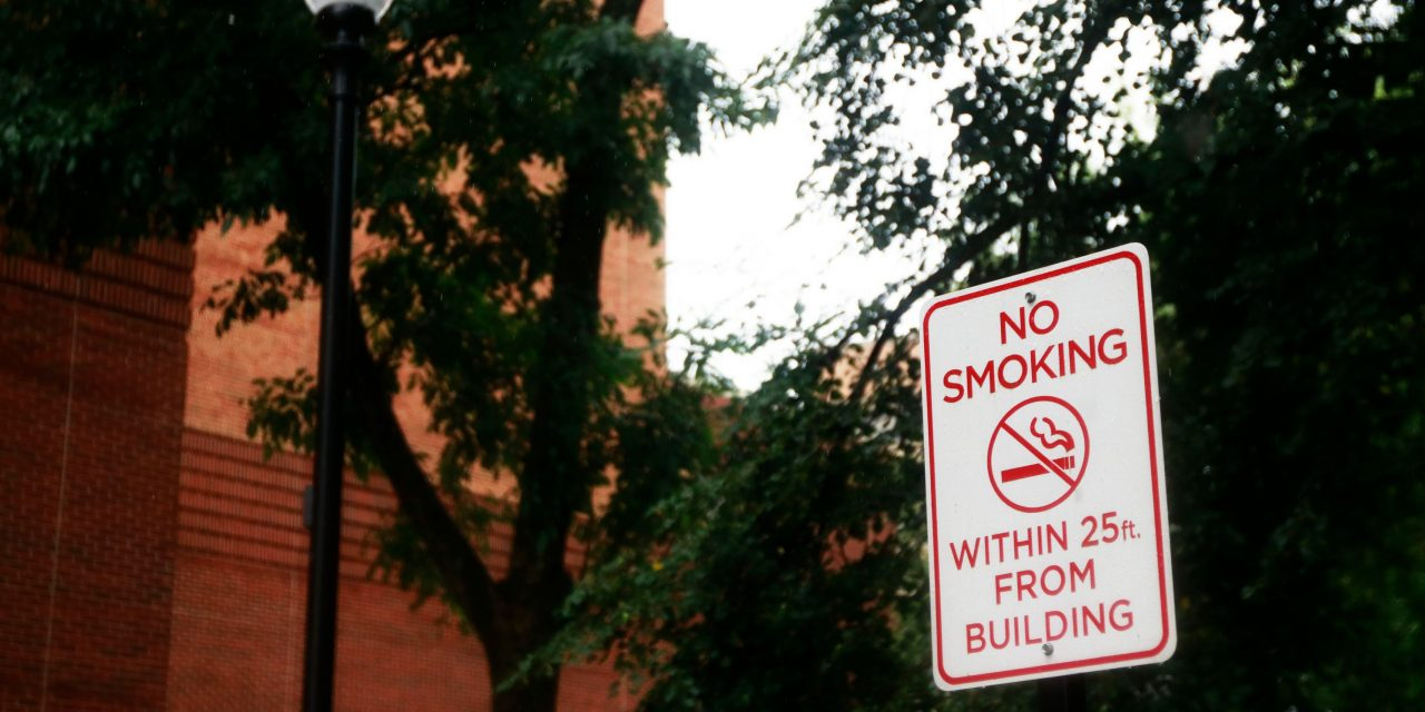 University imposed smoking ban to all lecturers