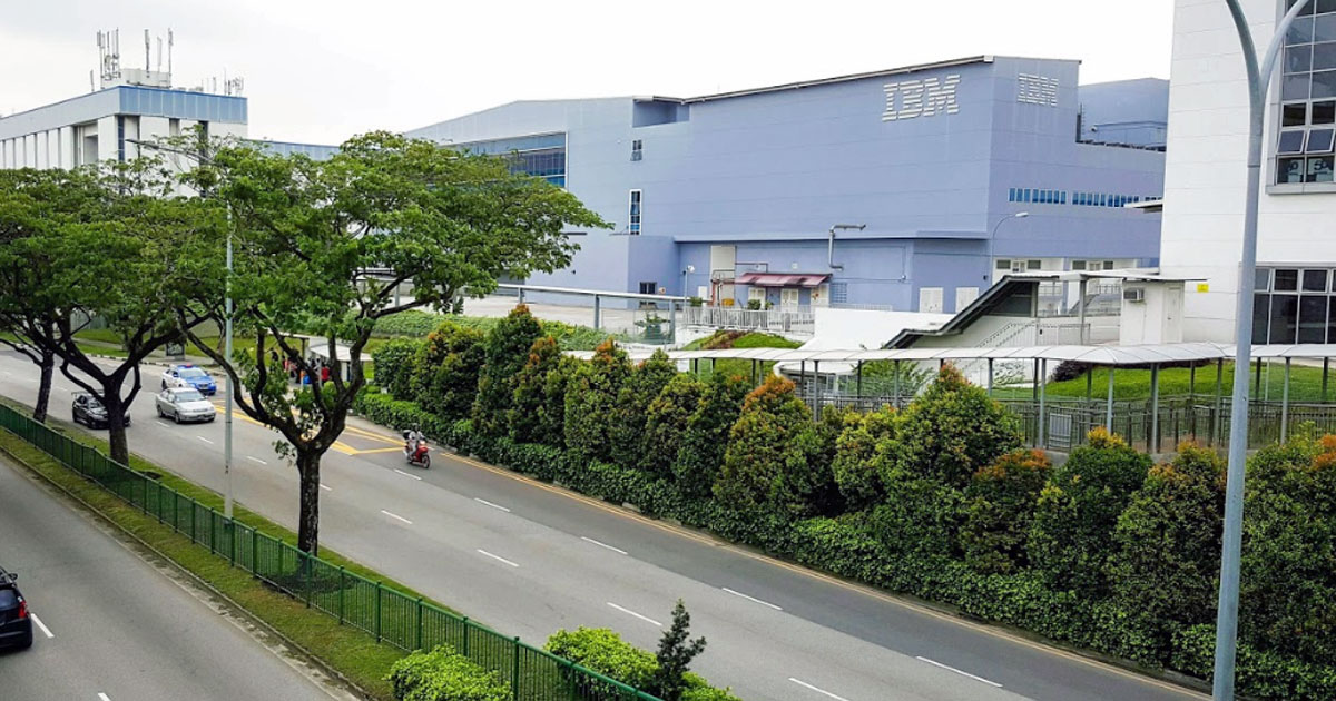 IBM To Axe All S'pore Staff As It Shuts Down Its S$90M Tampines Plant In July 2019