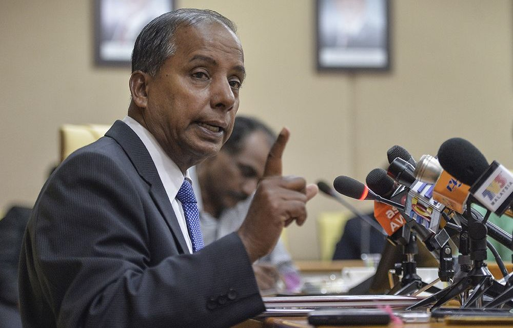 Law to provide Socso coverage for housewives in the works, says Kulasegaran