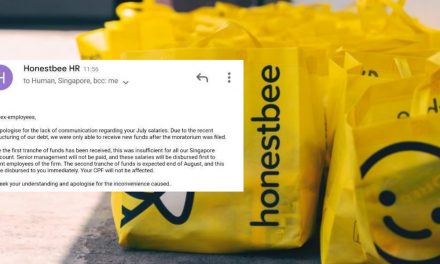 """Honestbee Receives New Funds But Still """"Insufficient"""" To Pay Salaries Of All S'pore Staff"""