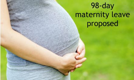 A 90-day maternity leave is a step in the right direction