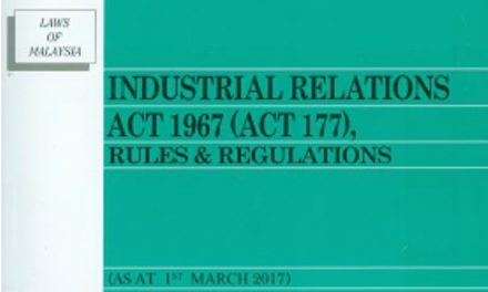 Bill on the Amendments to the Industrial Relations Act 1967