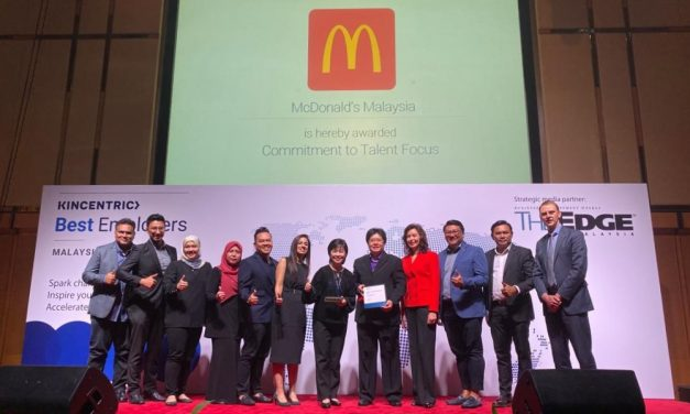McDonald's Malaysia recognised for its Commitment to Talent