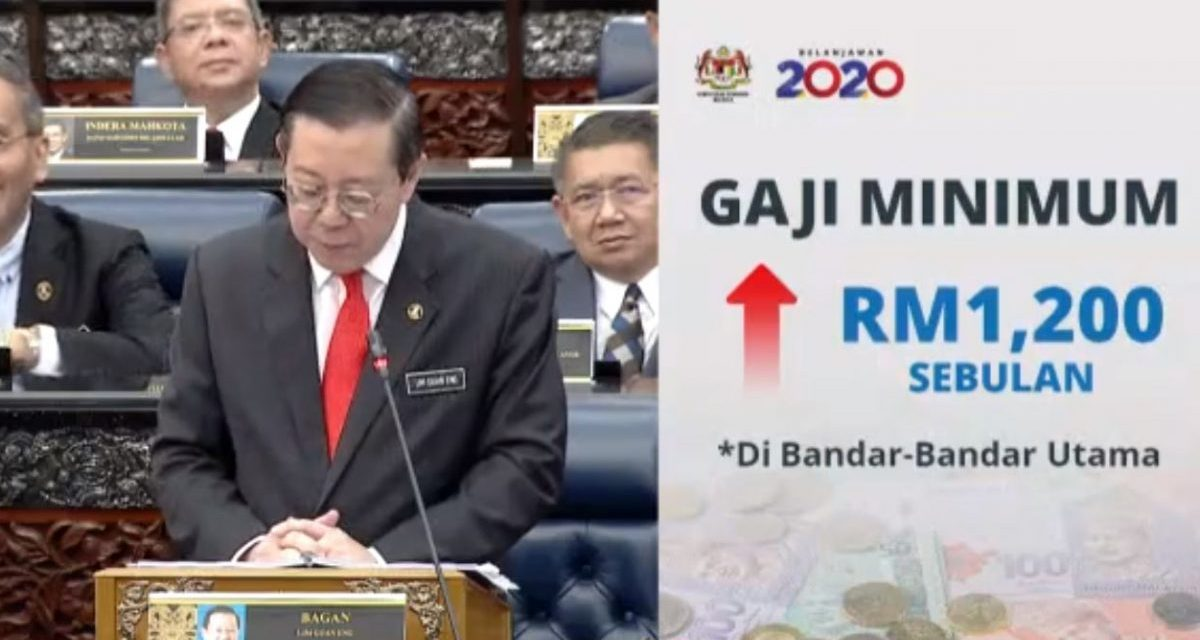 New RM1,200 minimum wage to take effect on Jan 1 in towns under 57 city councils