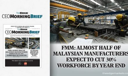 Almost half of manufacturers plan 30% job cuts by year-end — FMM-MIER survey