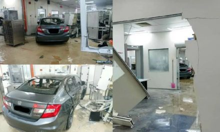Disgruntled employee rams car into Ipoh office, later killed in traffic accident