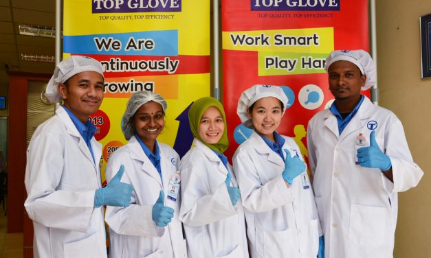 Top Glove Working with Authorities to Improve Workers' Accommodations